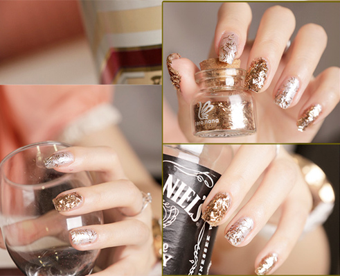 How to make crystal nails